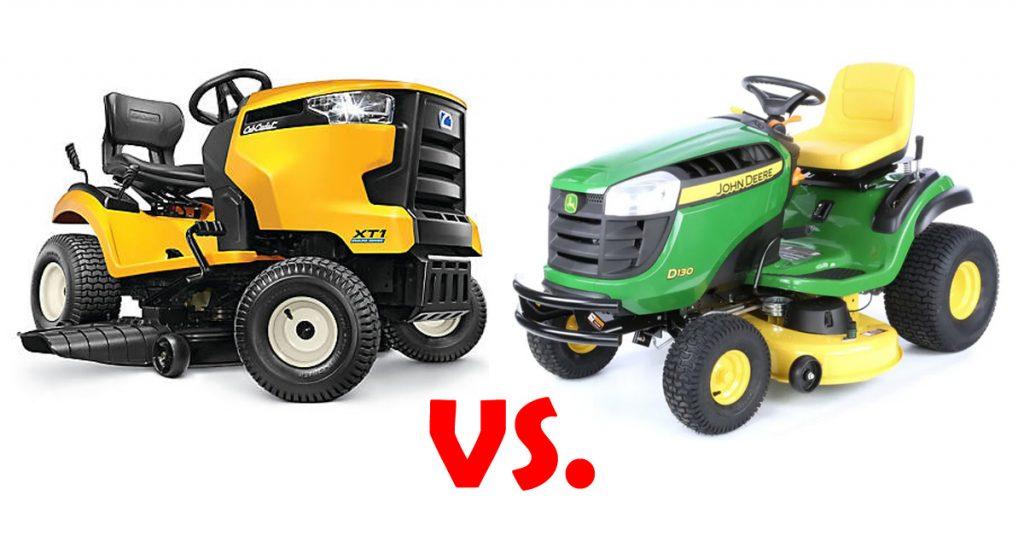 Cub Cadet vs John Deere: Lawn Tractor Face-Off